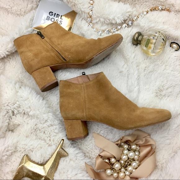 72a37ec6f54b Madewell Shoes | 2 For 80 Jada Suede Booties Sz 8 Guc | Poshmark